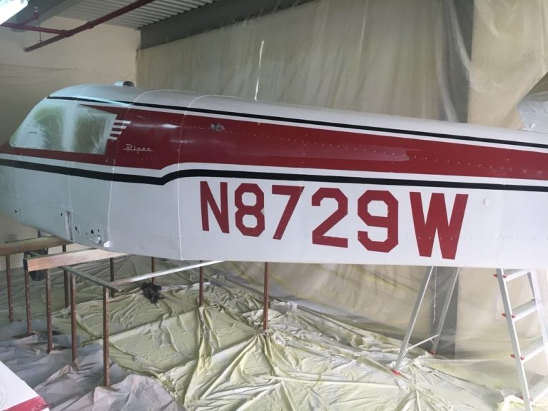 Aircraft restoration project